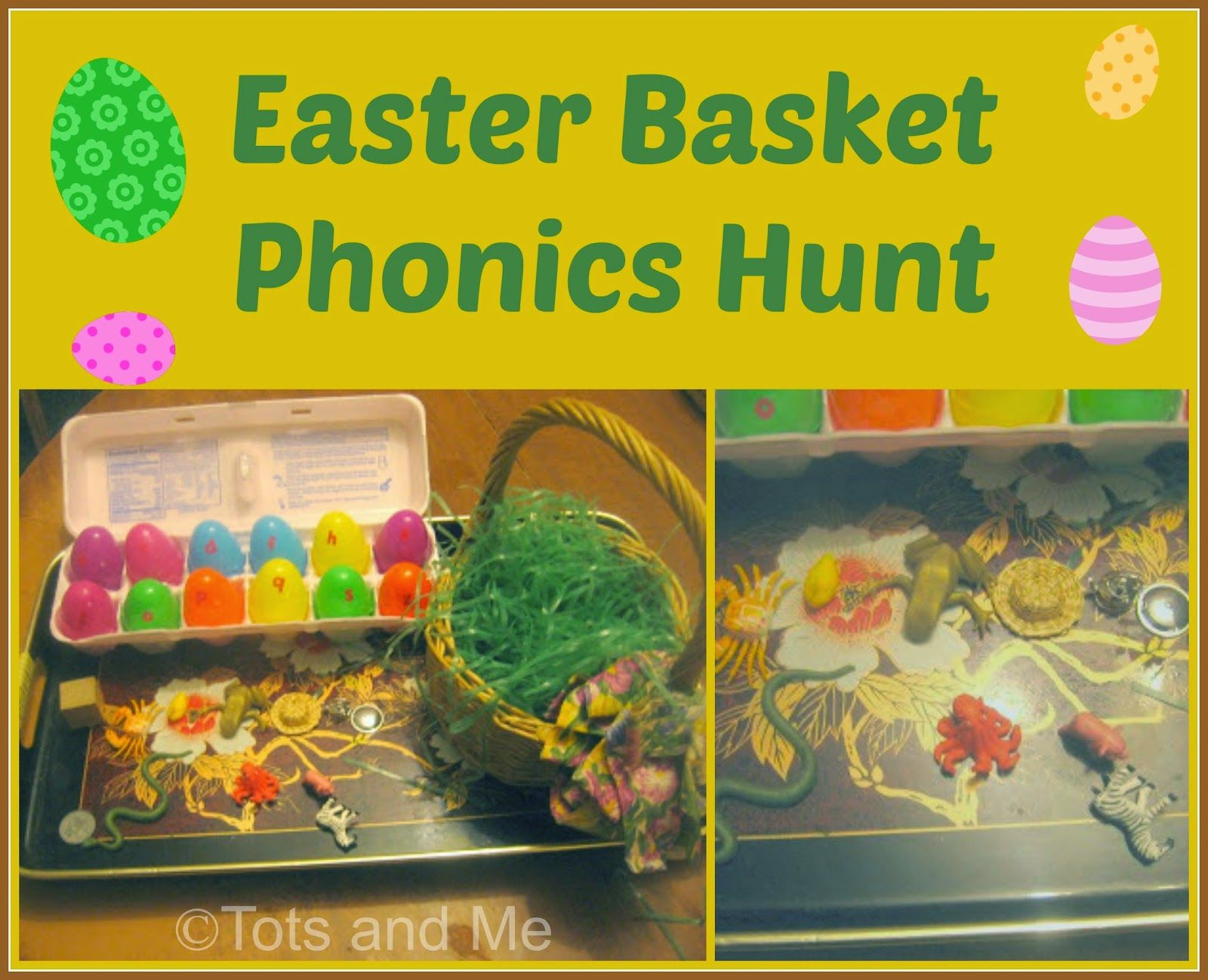 Easter Basket Phonics Hunt