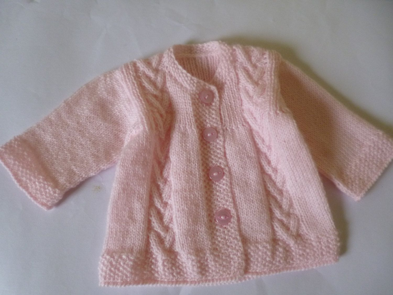 Suéter Tejido A Mano Para Bebé Saco Para Beba Hecho A Mano Abrigos Bebe Niña Jersey Niño Suéteres De Punto De Bebé