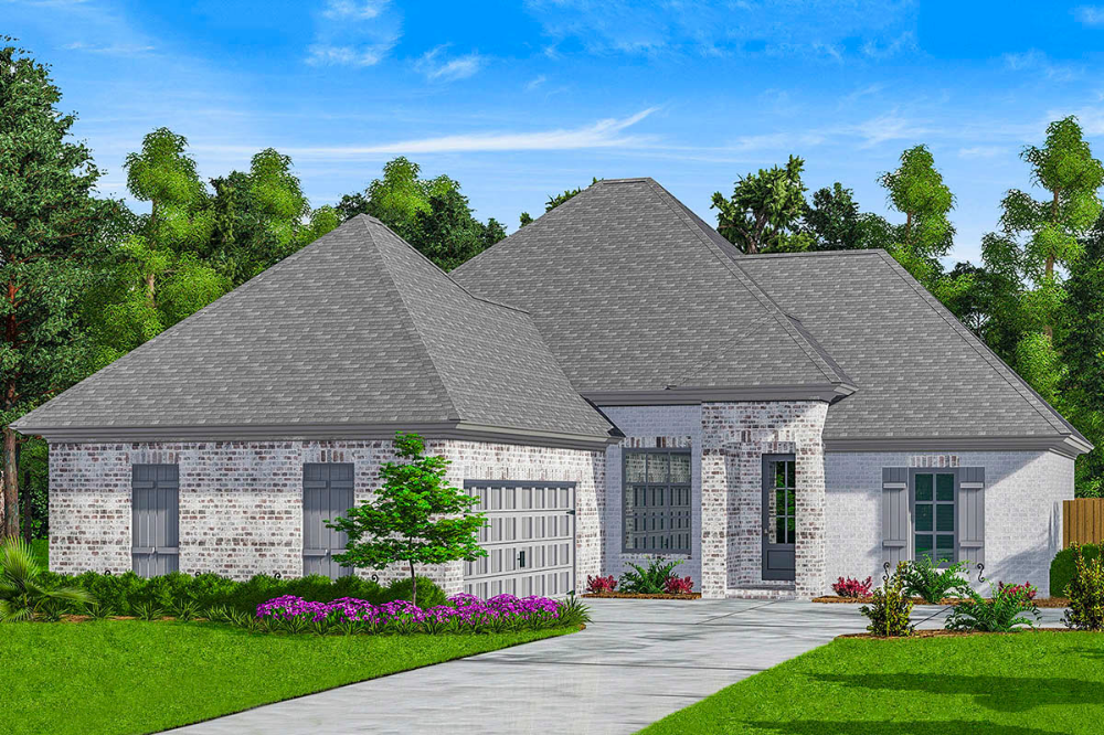 Plan 510096WDY Onelevel House Plan with Split Bedrooms