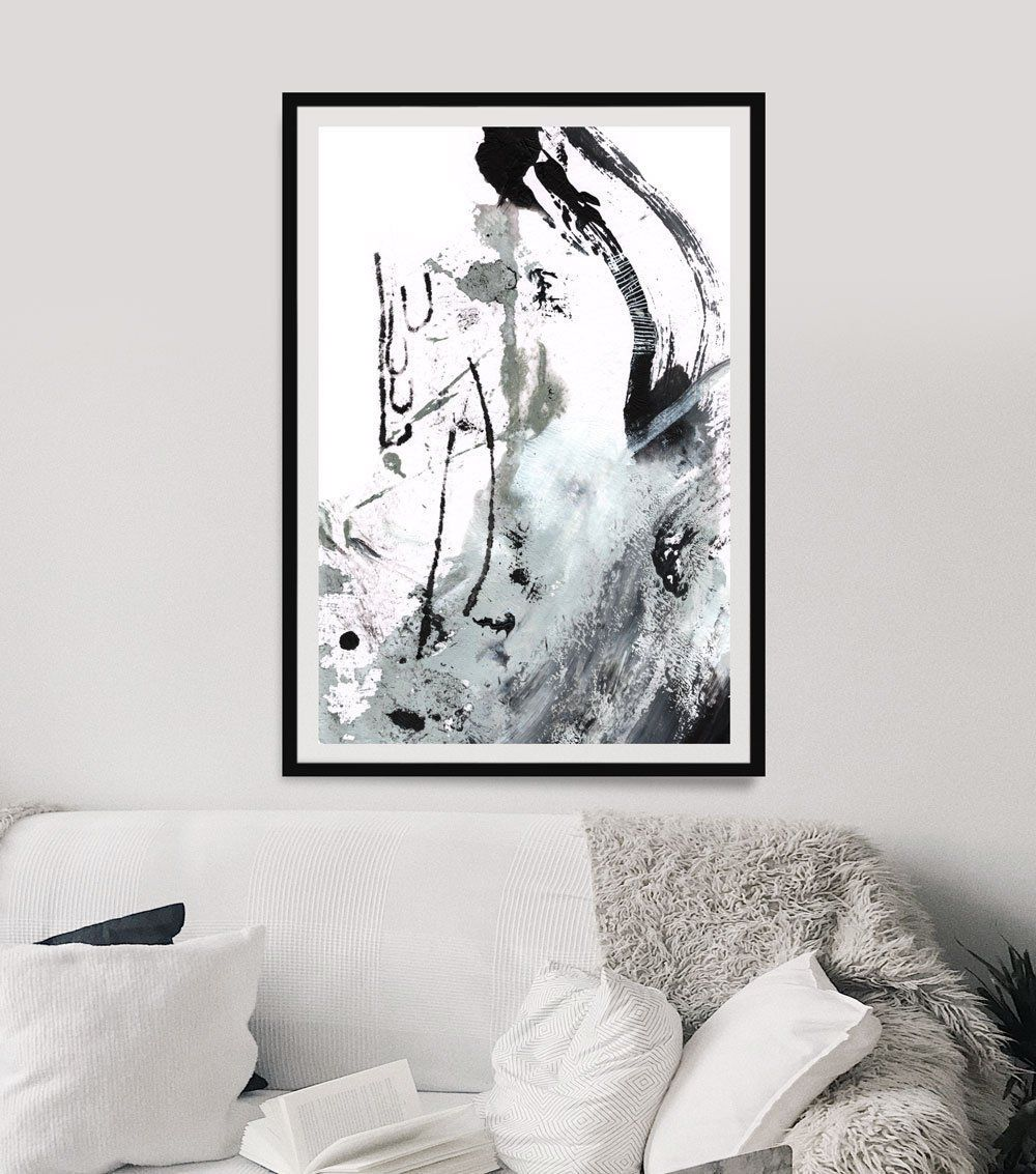 Large Abstract Wall Art Black And White Wall Art Large Abstract Art Modern Art Large Wall Large Abstract Wall Art Abstract Wall Art Large Abstract Painting