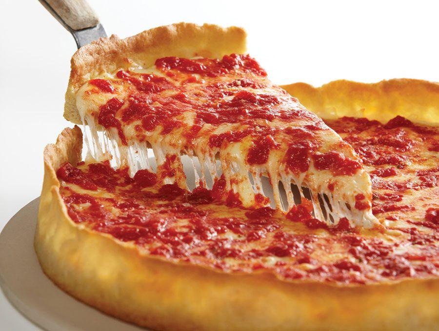 Lou Malnati S Deep Dish Pizza Food Deep Dish Pizza Chicago Style Deep Dish Pizza