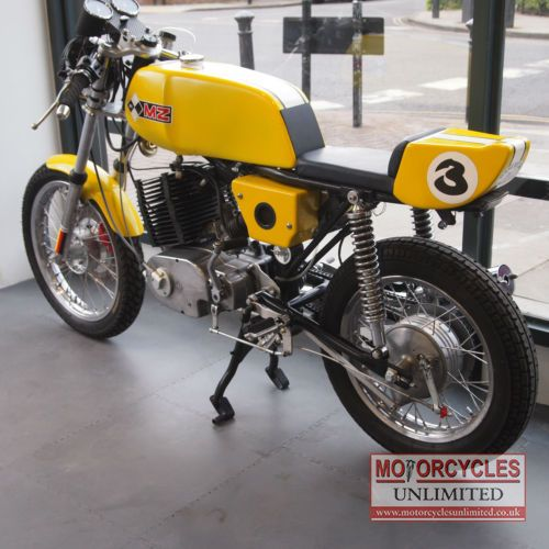 mental (1976 mz250 classic cafe racer for sale - £3,989.00) at