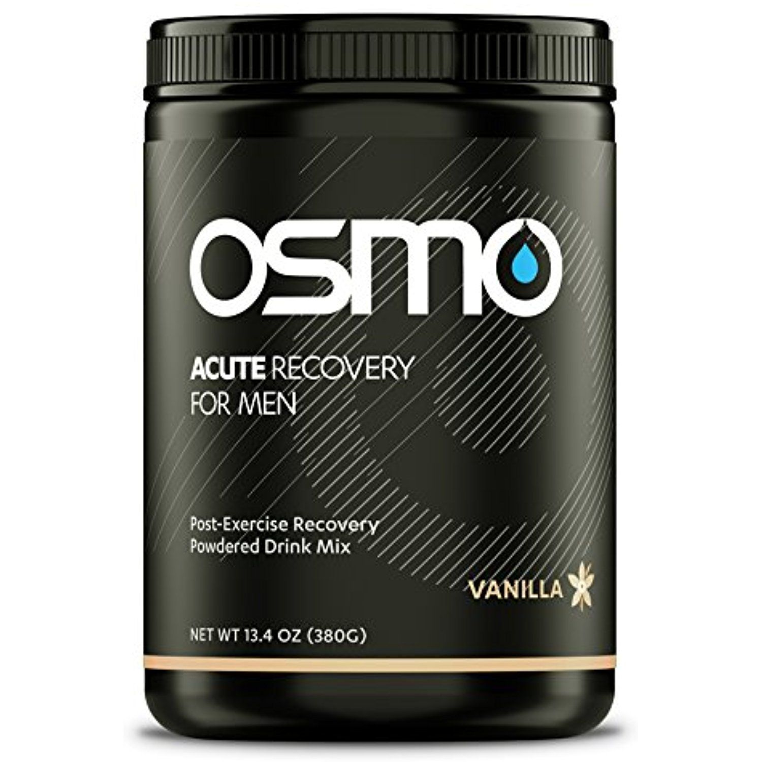 Osmo Nutrition Acute Recovery for Men, Vanilla, 16 Serving