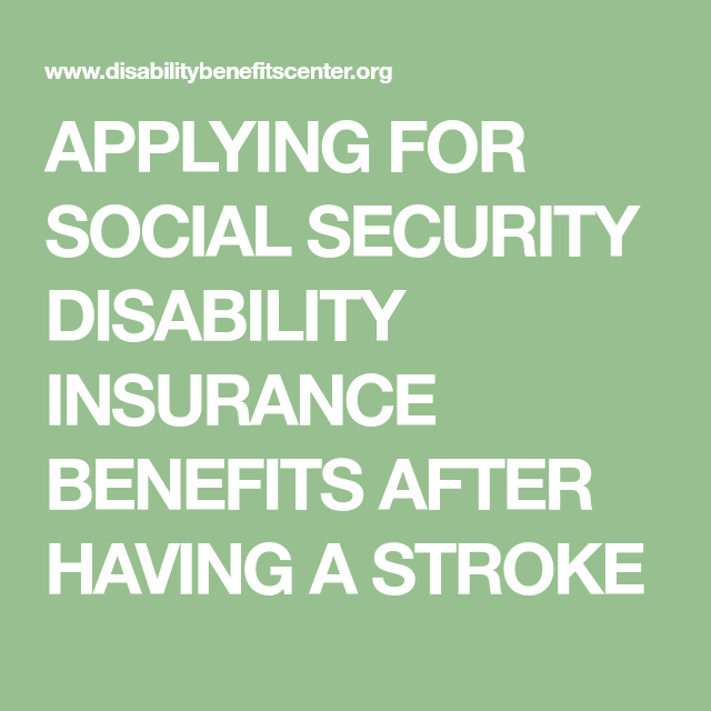 Applying For Social Security Disability Insurance Benefits After