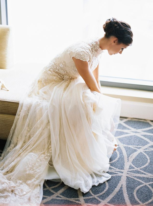 Modest Wedding Dresses by Alta Moda Bridal   Pinterest   Brautkleider