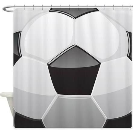 Soccer Shower Curtain   Google Search