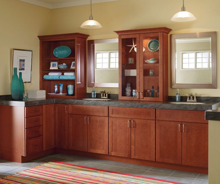 For Everything You Ll Need In A Bathroom That Works For The Entire Family And Guests Alike Masterbrand Cabinets Kitchen Cabinets In Bathroom Schrock Cabinets
