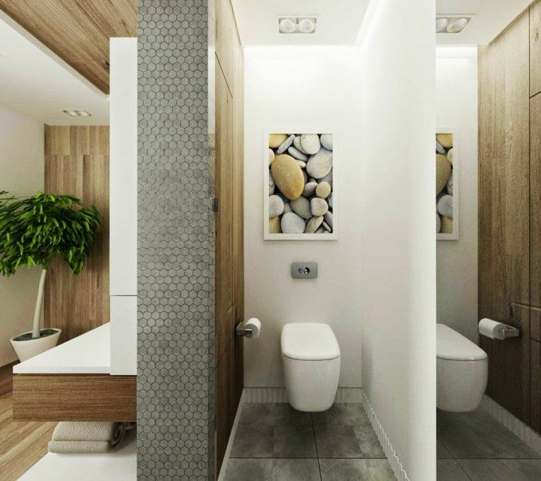Zen Bathroom With Ornamental Colours