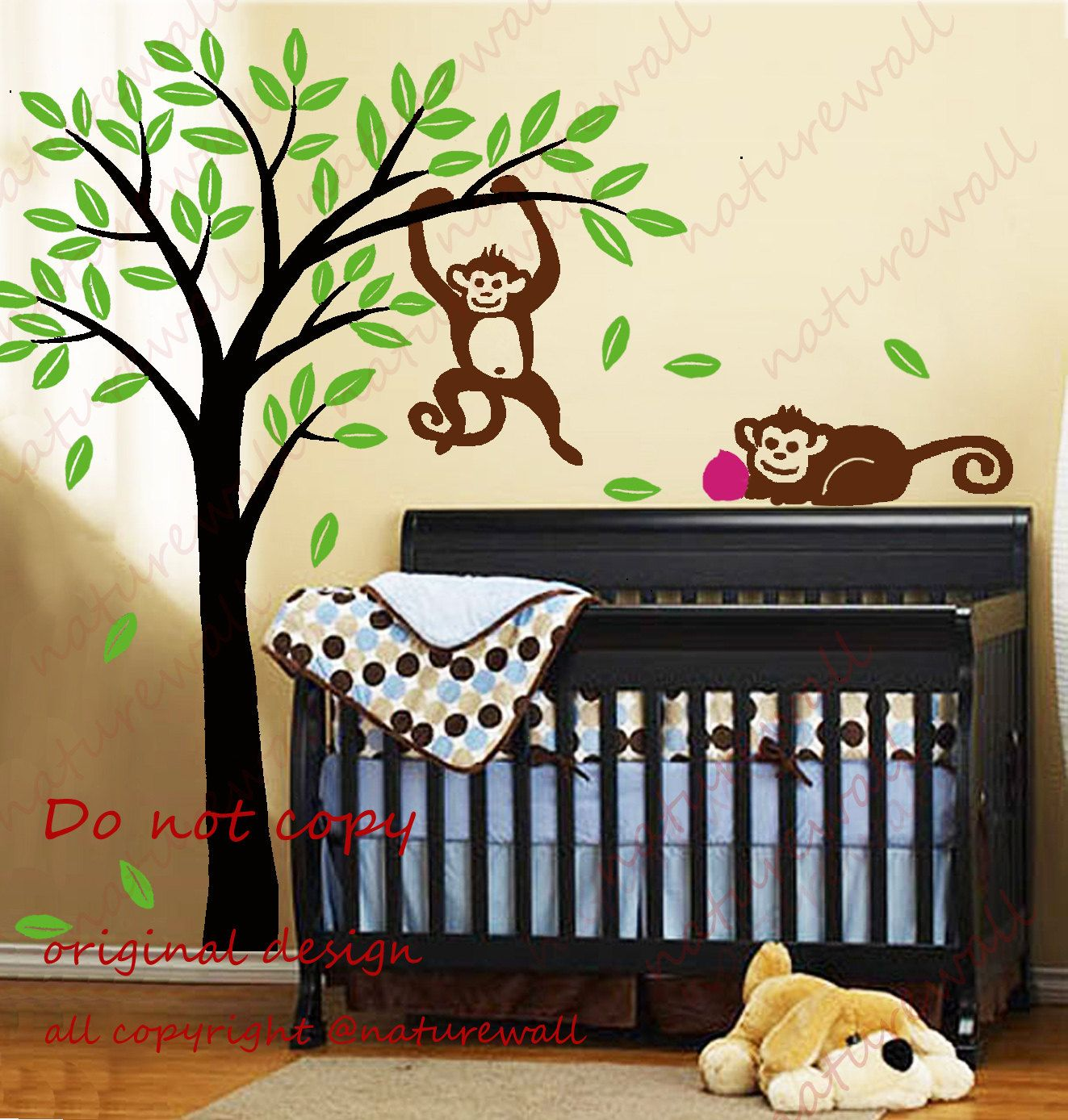 Kids wall decals tree decal baby decal nursery decal by naturewall