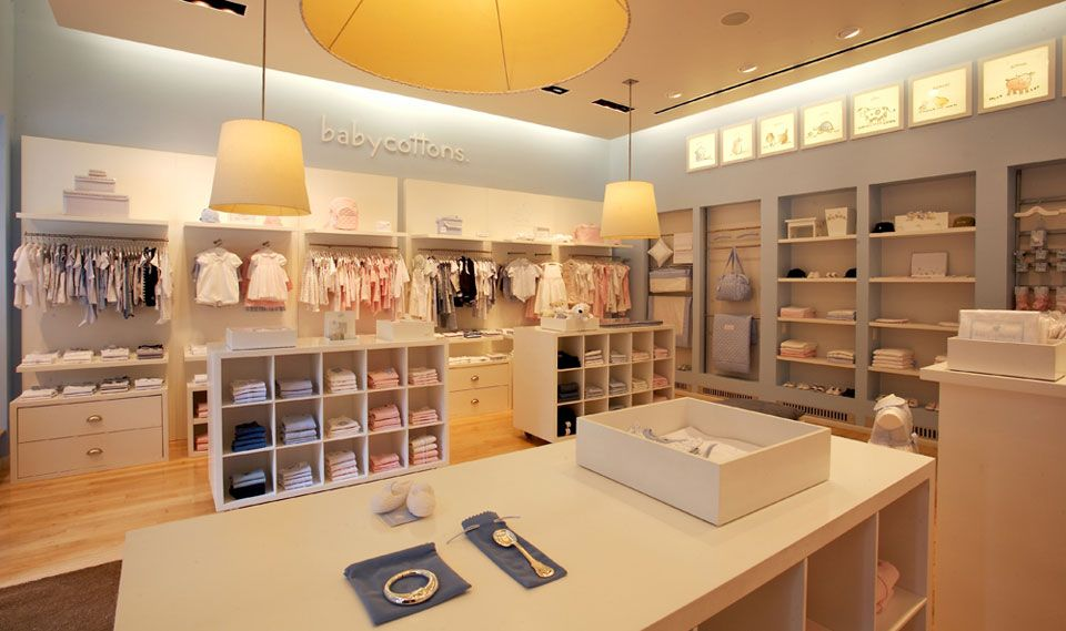 Retail: Baby Cottons  Baby gear store/ 1236 Madison Ave, NYC | Store  interior design, Store interiors and Baby store