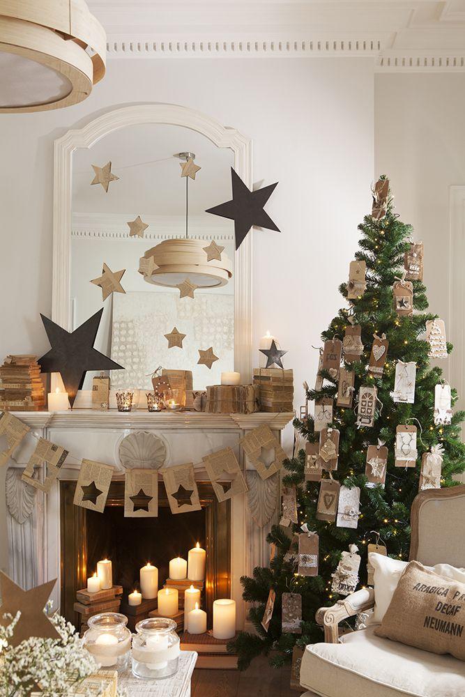 Guirnaldas y coronas 15 manualidades de navidad para decorar rboles de navidad pinterest - Manualidades para decorar en navidad ...