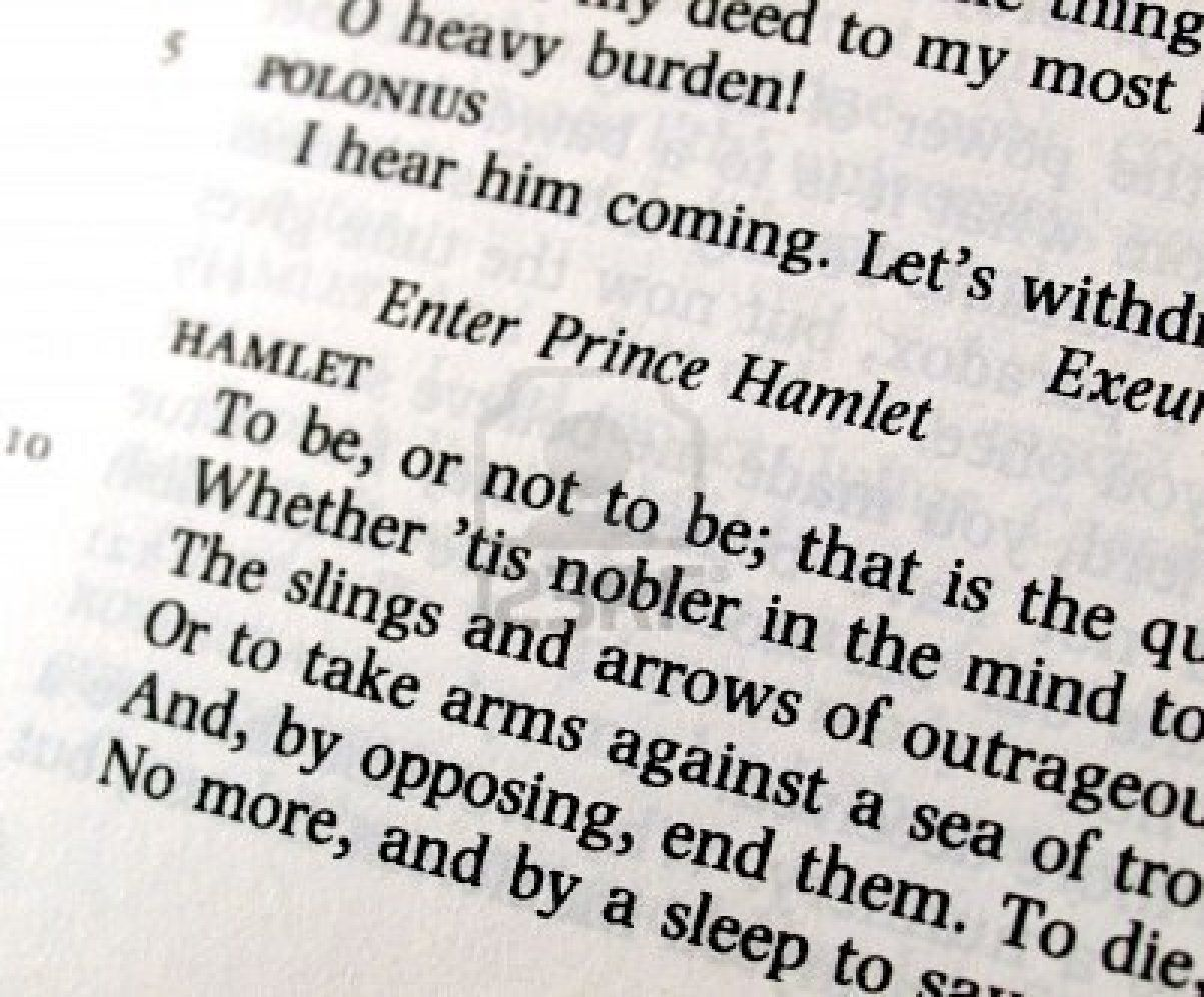 a literary analysis of the two sides of hamlet by william shakespeare William shakespeare's hamlet, says renowned pundit of literature, harold bloom, is unsurpassed in the west's imaginative literature (bloom 384) surely, its story, style, and many famous lines have transcended time and place to such an extent.