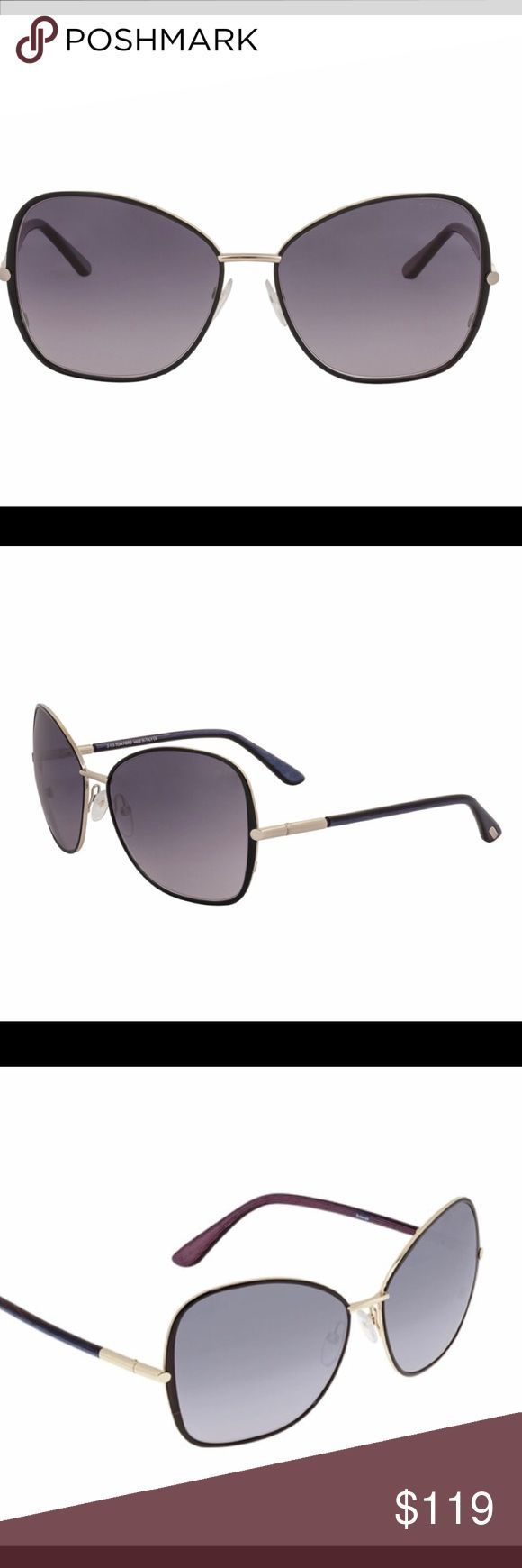 Tom Ford Solange Gradient Butterfly Sonnenbrille Tom Ford Solange Gradient Smoke B ..., ...   - Sch