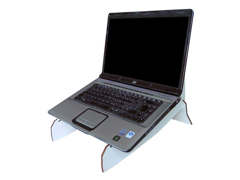 """Doppio stand per computer portatile fino a 17,3"""" di LOHN_Little Objects for Huge Needs su DaWanda.com"""