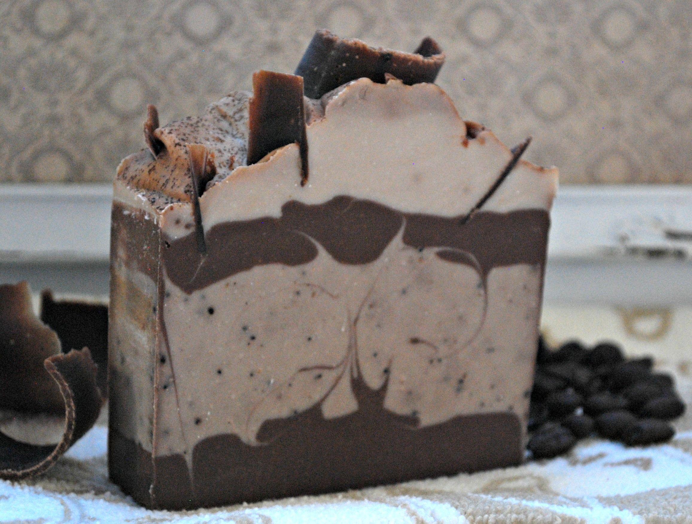 Chocolate espresso handmade soap chocolate espresso