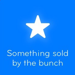 Something sold by the bunch 94 - All answers