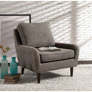 Shop for Arcadia Mid-century Upholstered Rubberwood Arm Chair. Get free shipping at Overstock.com - Your Online Furniture Outlet Store! Get 5% in rewards with Club O! - 18906127
