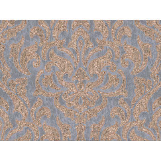 A S Creation Vliestapete Bohemian Ornament Blau Tapeten