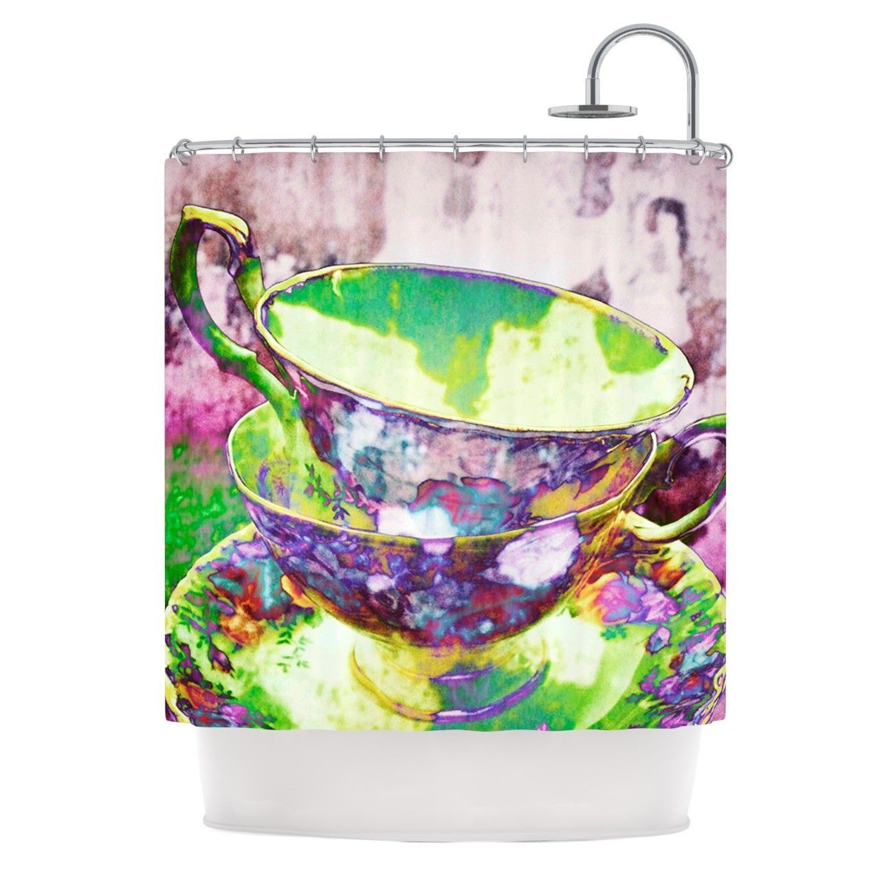 Mad Hatters T-Party II Shower Curtain