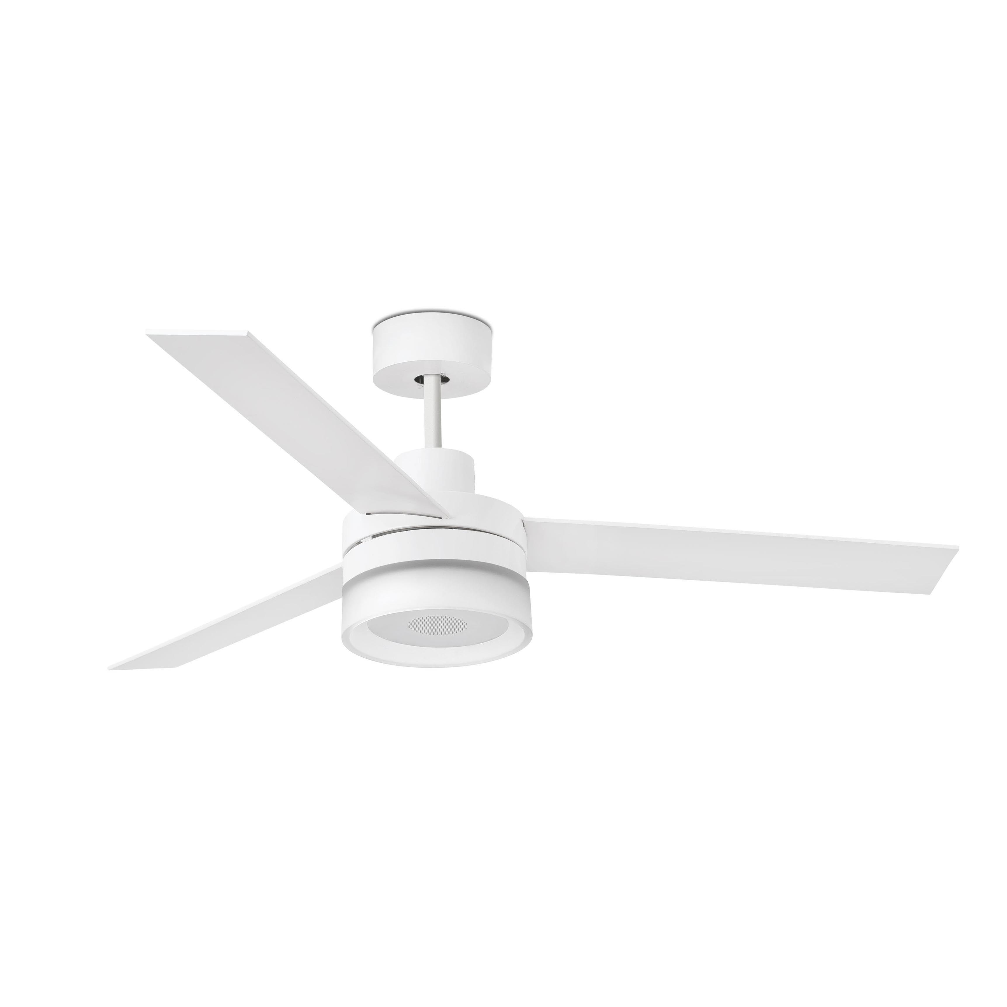 Ventilador Con Luz Led Con Altavoz Bluetooth Ice Speaker 33460  ~ Ventiladores Techo El Corte Ingles