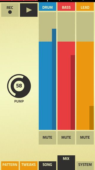 Figure by Propellerhead Software AB | Musical App Interface