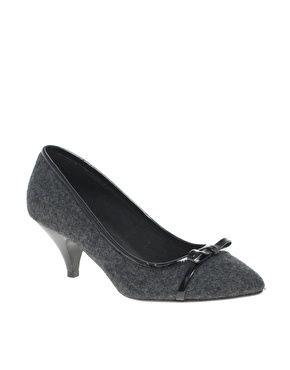 f6d1fe47337 ASOS SOUL Bow Detail Kitten Heel Shoe