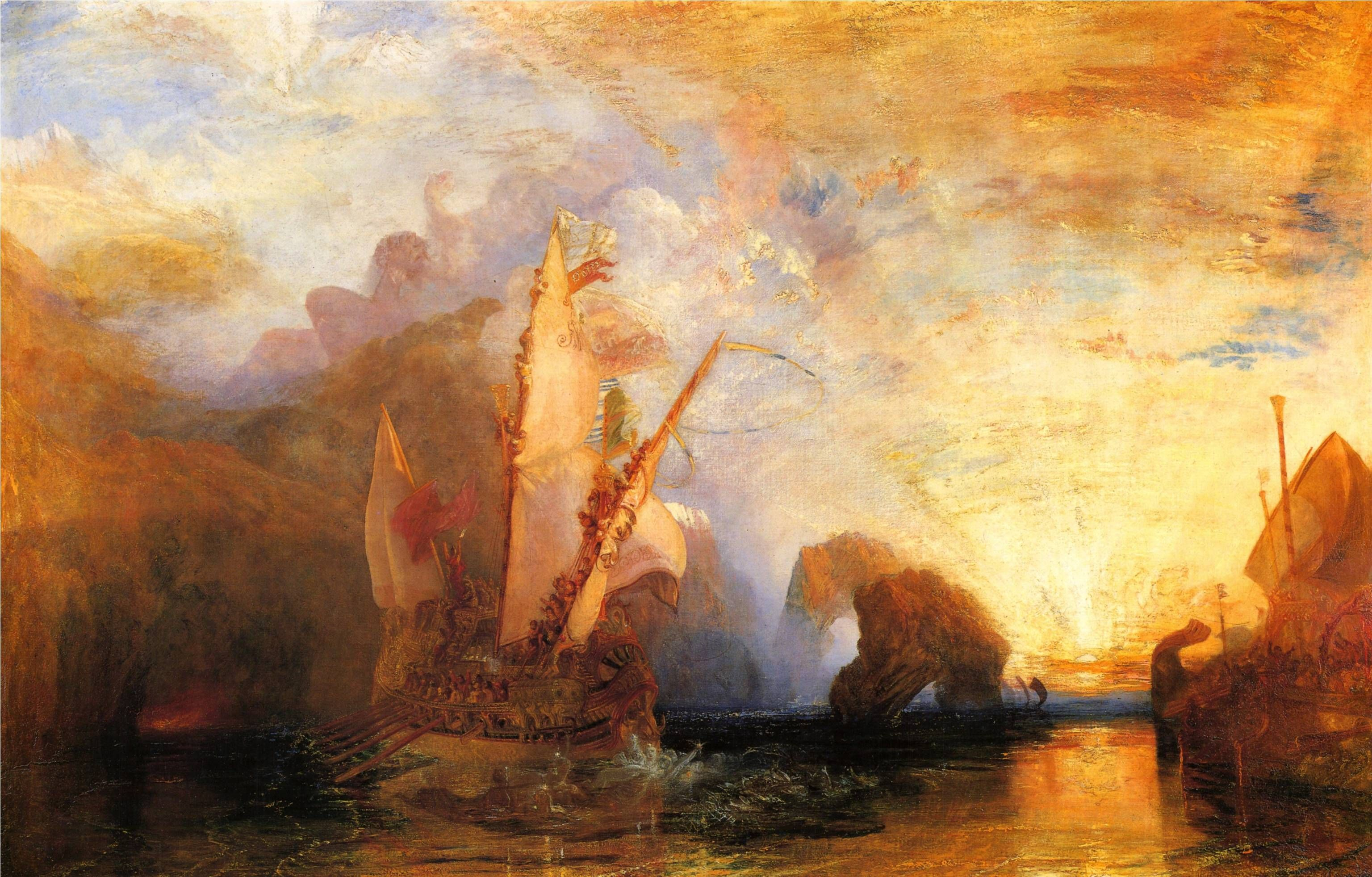 J.M.W Turner | Grace Hatton the Author's Blog | Turner painting, Joseph  mallord william turner, William turner