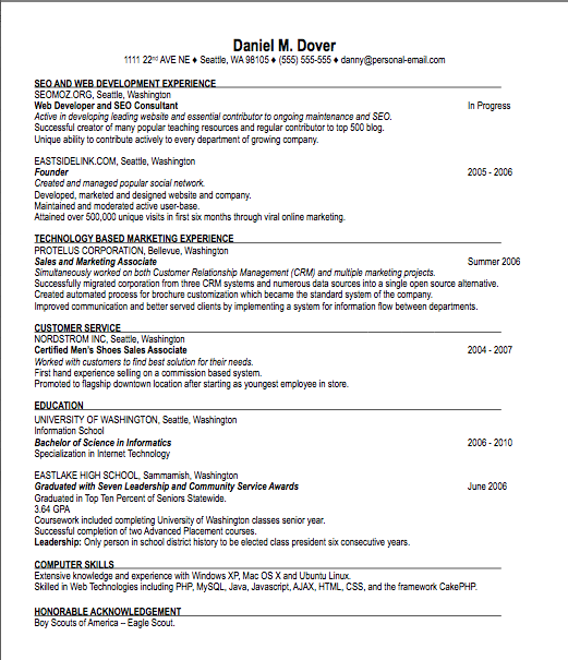 Resume Cover Letter Writing Guide