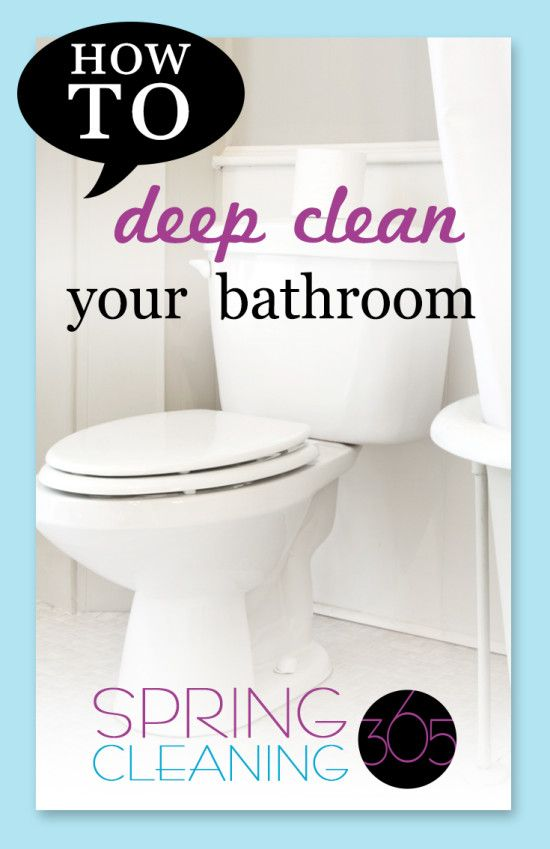 It S Important To Figure Out How To Deep Clean The Bathroom On A Regular Basis If You Want It To Get Easier Deep Cleaning Deep Clean Bathroom Bathroom Cleaning