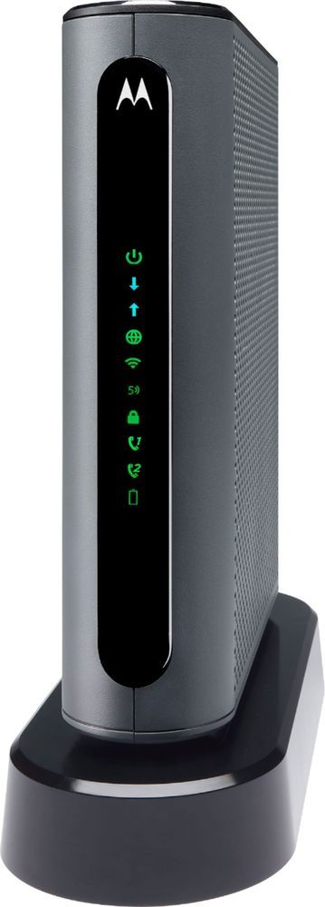 Motorola DualBand AC1900 Router with 24X8 DOCSIS 3.0