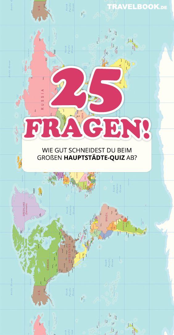Hauptstädte Quiz Welt