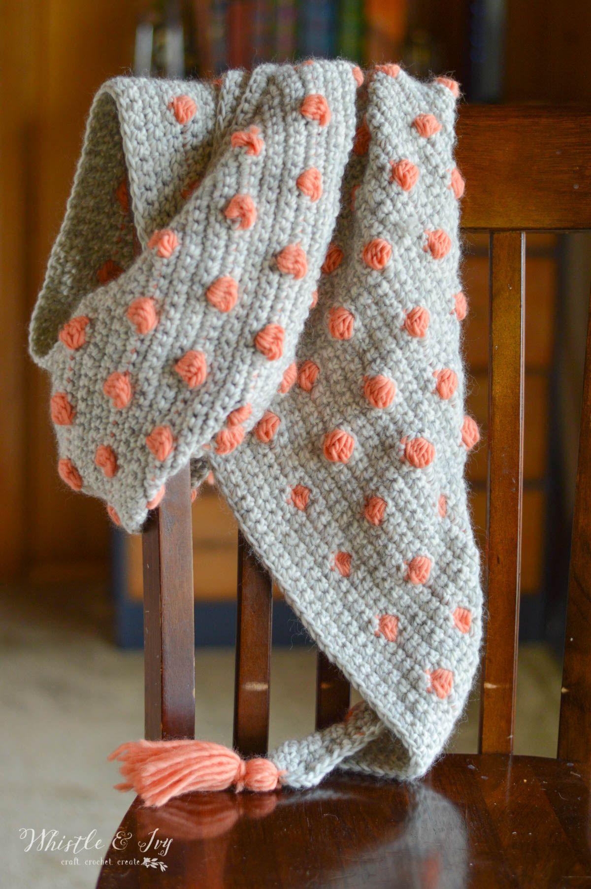 Crochet Pop Scarf A Review Knitting Crochet Pinterest