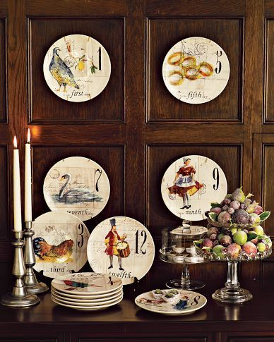 Williams Sonoma Christmas Plates.12 Days Of Christmas Dinnerware By Williams Sonoma Winter