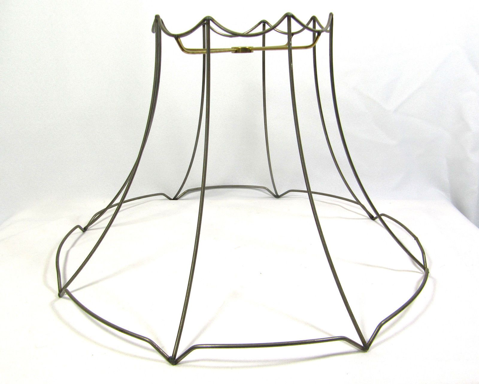 Lamp shade wire frame large for table floor hanging custom hand made lamp shade wire frame large for table floor hanging custom hand made diy greentooth Images