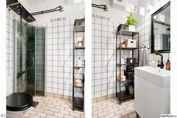 industriellt badrum, diy tips, inredning, styleroom, hylla av stål ...