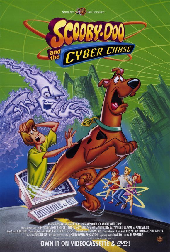 Scooby doo and the cyber chase 11x17 movie poster 2001 products personnage de fiction - Personnage scooby doo ...