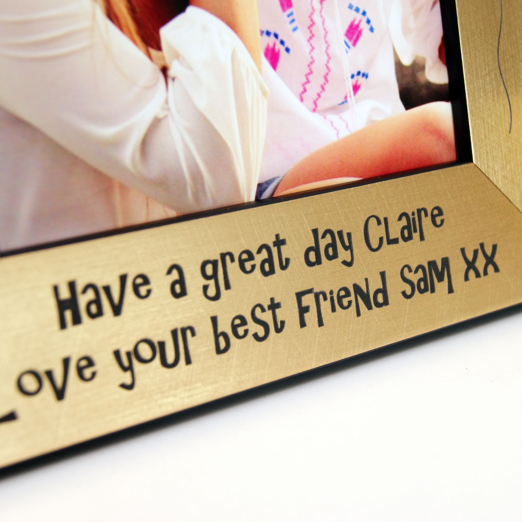 An engraved, personalised handmade photo frame to celebrate a milestone 16th birthday! The birthday guy or gal is sure to love unwrapping this truly thoughtful present, featuring intricately detailed engravings of balloons and stars! Each frame comes with **Sixteen** engraved at the top. You can also further personalise your frame with 2 lines of special text, which will be engraved at the bottom (We recommend a maximum of 5-6 words). Our frames are designed, assembled and engraved in our Edinbu