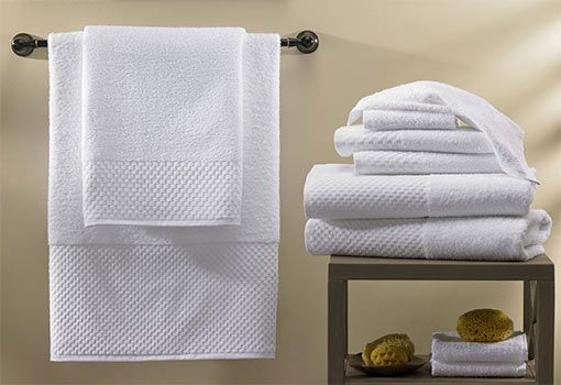 Freshen Up Your Bathroom With The Complete Hilton Towel Set Made Of Blended  Cotton. Shop Hilton To Home Now For Towels, Robes, Shower Accessories And  More. Part 7