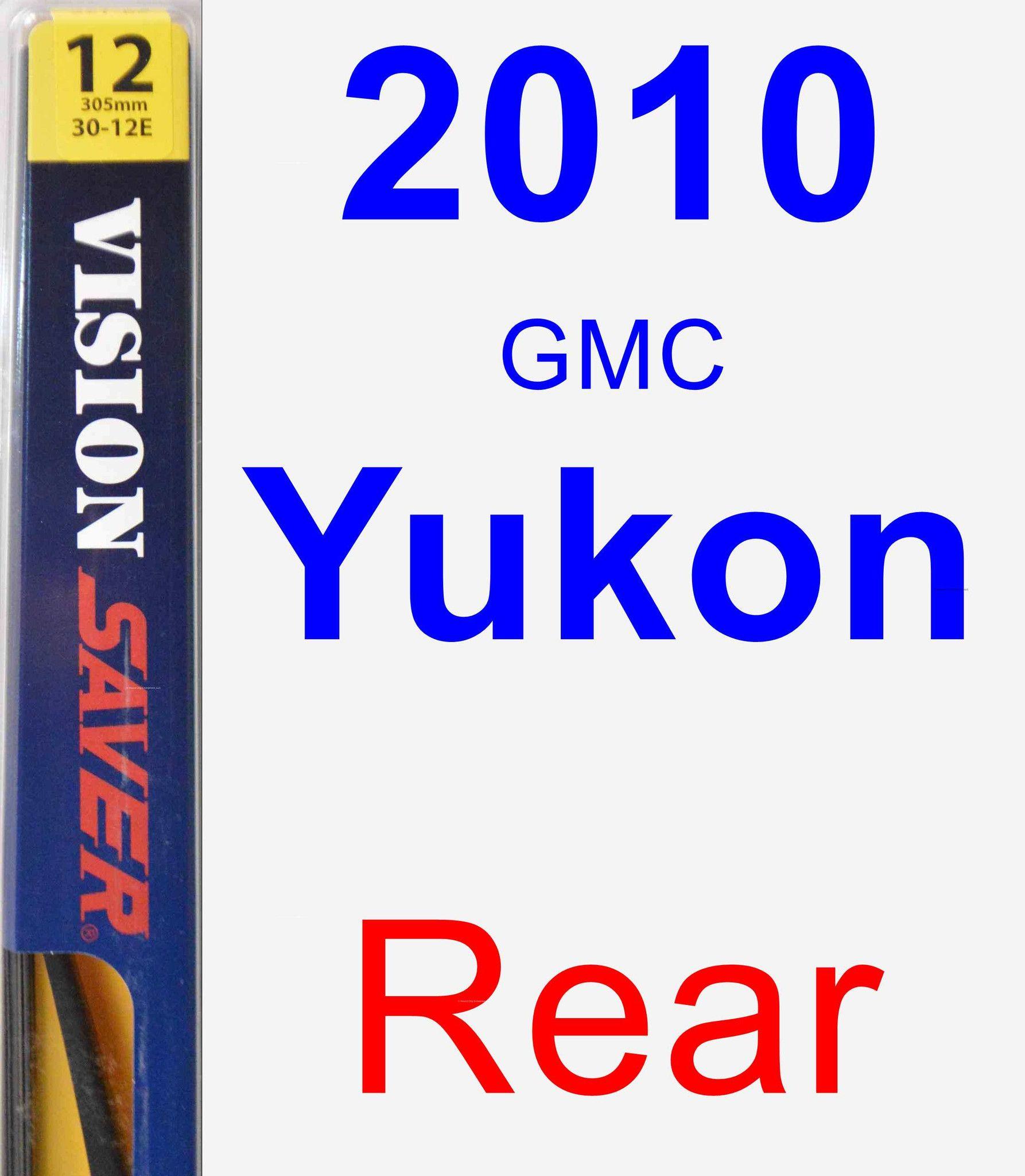Rear Wiper Blade For 2010 GMC Yukon - Rear