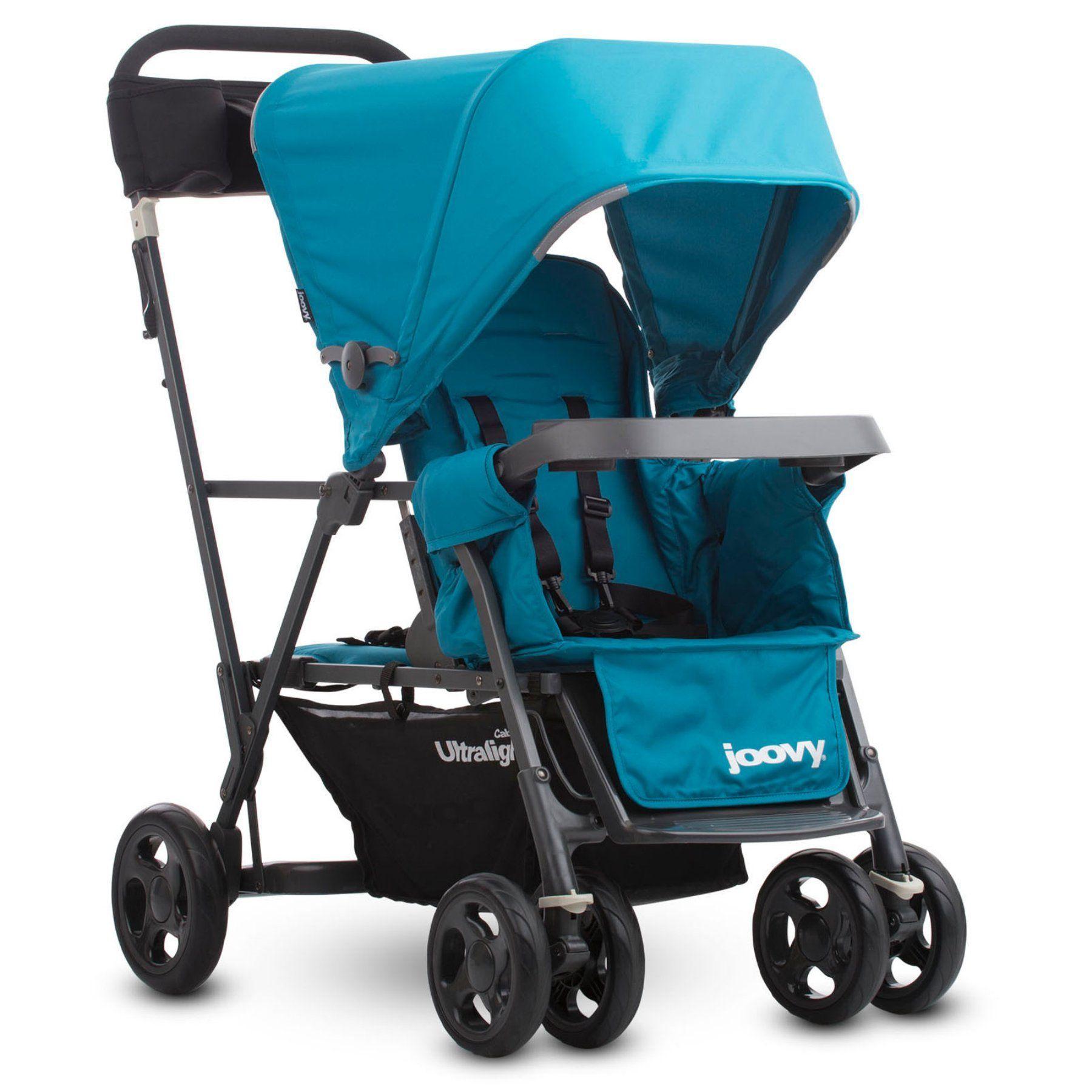 Joovy Caboose Ultralight Graphite StandOn Tandem Stroller