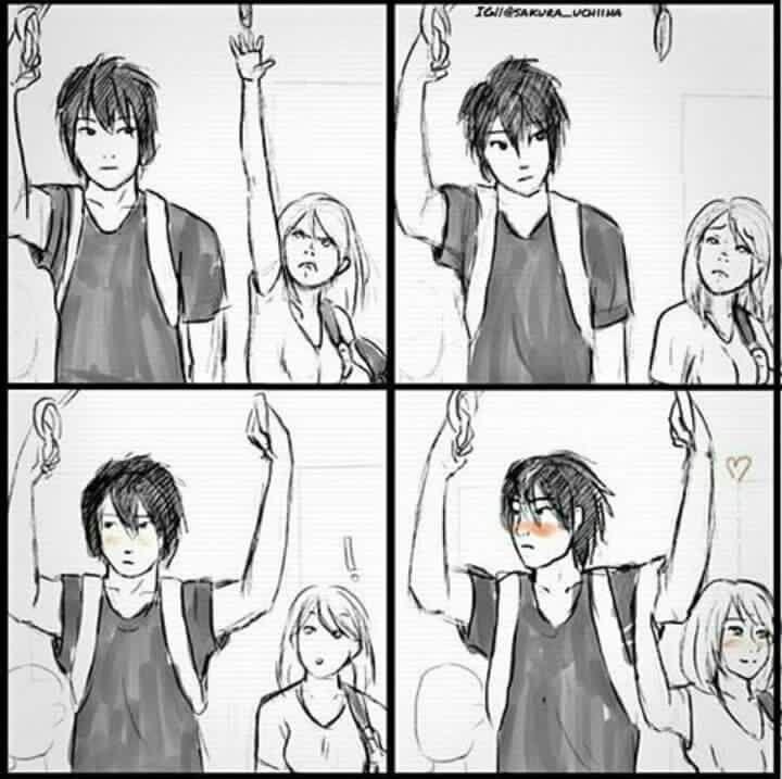 Картинки аниме про любовь комиксы