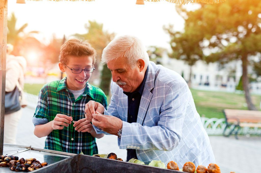 Grandfather and grandson | The Merits of Multi-Generational Travel