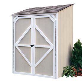Backyard Organizer 5u0027 x 4u0027 x 7u0027 Wood Storage Shed  sc 1 st  Pinterest & Backyard Organizer 5u0027 x 4u0027 x 7u0027 Wood Storage Shed   Outdoors ...