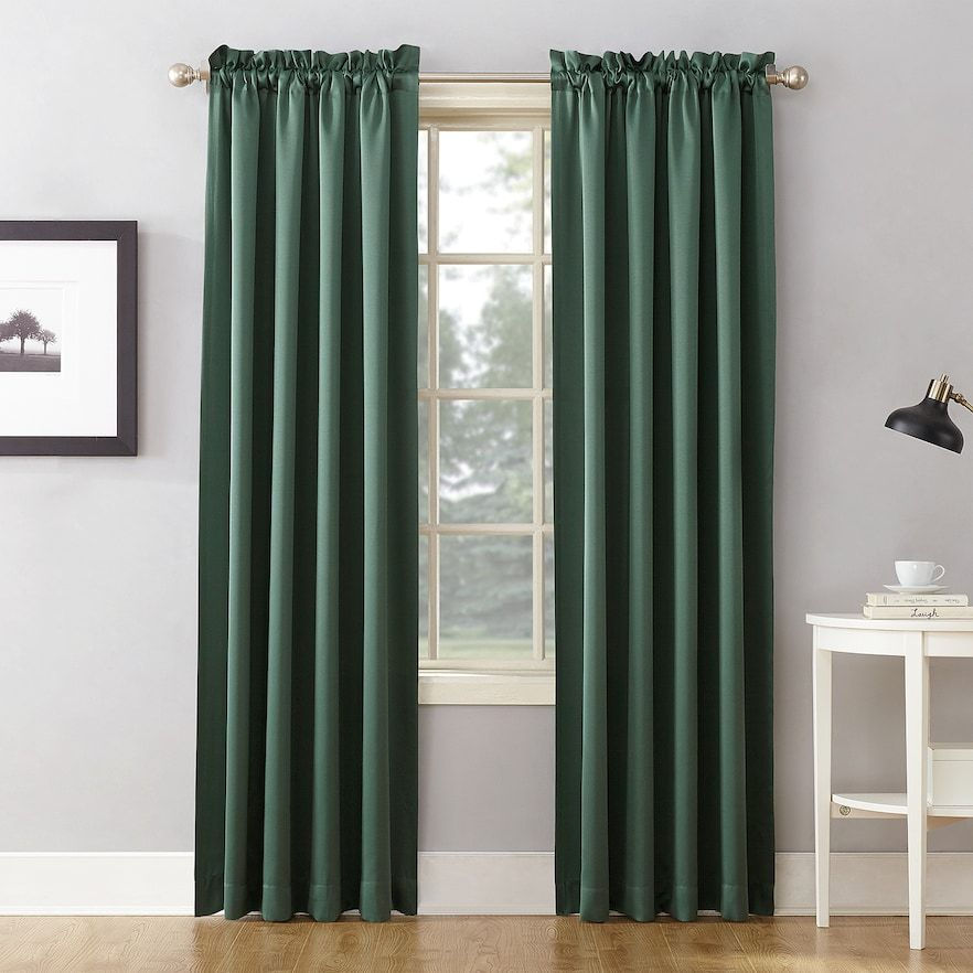 Sun Zero 1 Panel Gramercy Room Darkening Window Curtain Panel