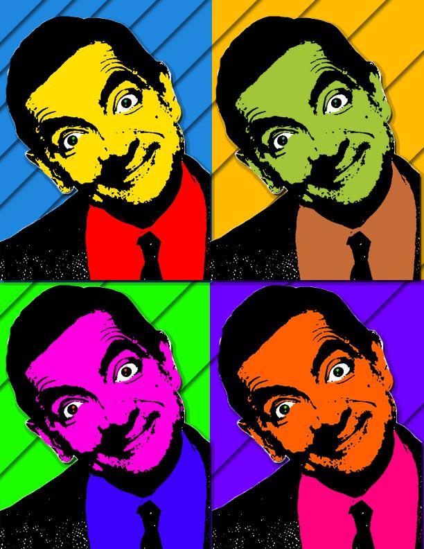 DeviantArt: More Like Mr. Bean Pop Art by 4EyezConcepts