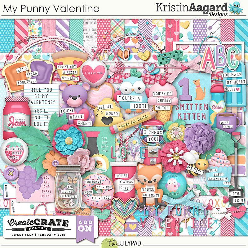 Мои Каламбуры Валентина Punny valentines, Digital