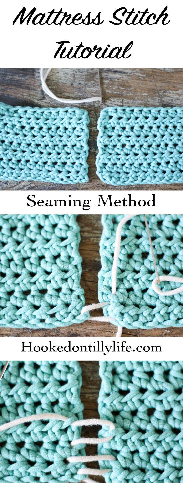 How to mattress stitch mattress stitch crochet