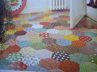 Decoupage Floor Paper Flooring Craft Projects Diy Flooring