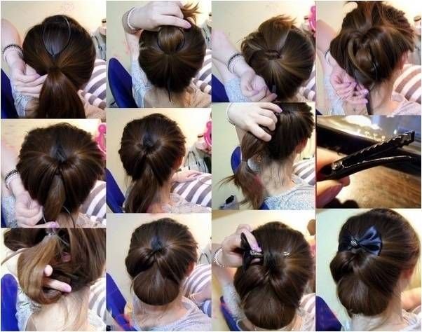 Topsy Tail Hairstyles | Topsy Tail Flair - Styles with ponytail hair styler / Crystalmood Blog