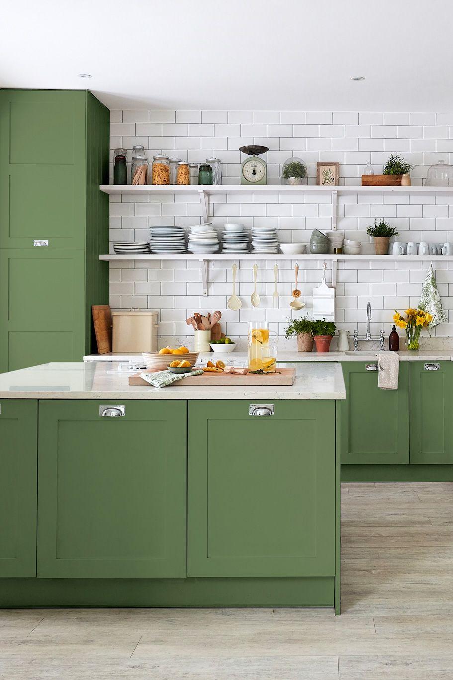 sanderson devon green water based eggshell 1 l paint kitchen inspirations best interior on kitchen interior green id=91463